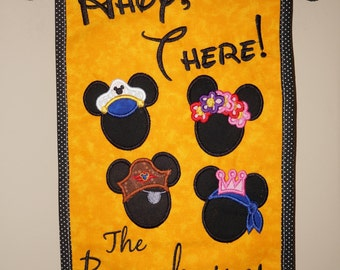 """Door Spotter """"Ahoy There""""  For Your Disney Cruise Or Anywhere.  Helps Spot Your Door!"""
