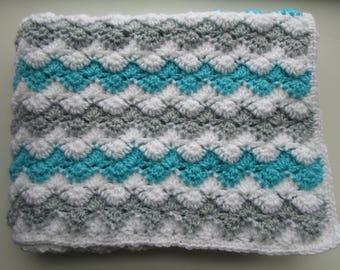 Crochet Patterns, Crochet Baby Blanket Pattern, Crochet Blanket Pattern, Crochet Throw Blanket, Crochet Afghan Pattern, ZIG ZAG SHELLS