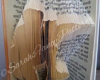 Half Price Sale - Army Guy - Book Folding Pattern