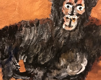 A Gorilla's Costume