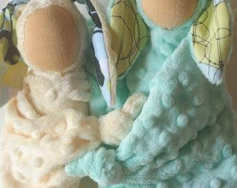 Waldorf Doll PDF Sewing Pattern, Lovey Rag Doll, The Liebling Doll