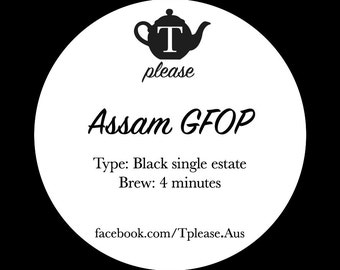 Assam GFOP loose leaf tea