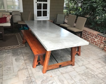 Concrete Slab Table