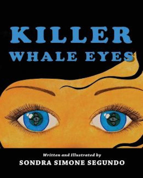 Children's Book: Killer Whale Eyes