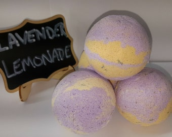 Lavender Lemonade Bath Bomb