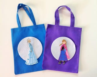 10 Pcs Frozen Party Bag Treat Bags Goodie Bags Candy Bags Elsa and Anna Party