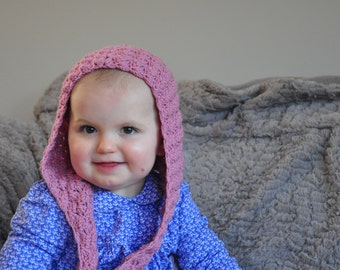 Elsie's Sring Hood - Instant Download PDF Crochet Pattern