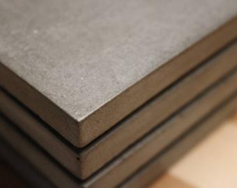 Concrete coasters - Grey