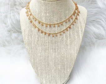 Restful Chaos- Pink Moonstone