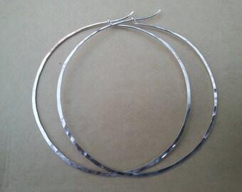 3 Inches Hoop Earrings