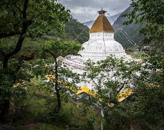 Nature photography, Fine Art Print,Buddhist temple,Stupa,Wall Art, Travel Photography, Maadat, Street Photography,4x6,8x12,12x18,16x24,20x30