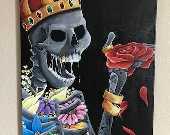 The Skeleton King Eats.