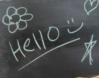 Basswood Chalkboard