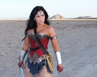 New Wonder Superhero Woman Corset