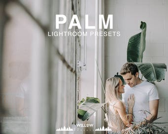 Palm Lightroom Presets for Portrait, Wedding, Product, Outdoor, Studio, Newborn Filter to achieve dreamy Photo Editing Results