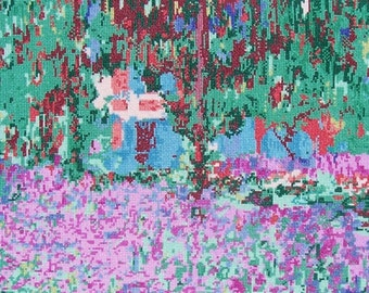 Monet's, Garden at Giverny--LB97059