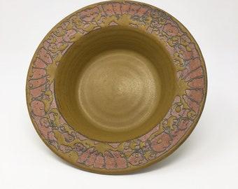 Bonnie Staffel soup bowls set of 6 beautifully detailed stoneware
