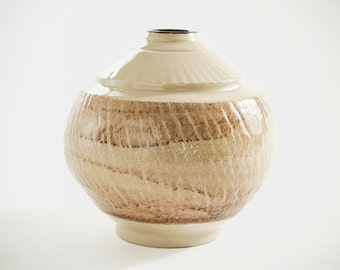 Ceramic vase, stoneware elegant vase, wheel thrown vase, great gift, handmade vase (No. N-va-9)