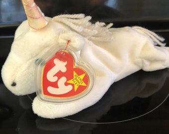 RARE, retired Mystic Ty Beanie Baby with tag errors!
