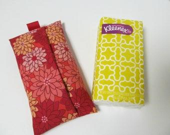 Tissue Case/Red Dahlia