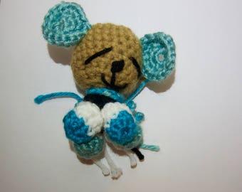 Handmade Amigurumi bear