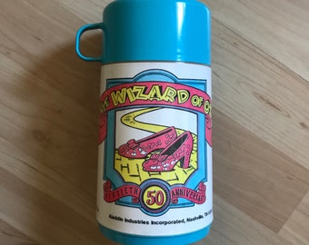 Vintage 1989 The Wizard of Oz Aladdin Thermos Cup