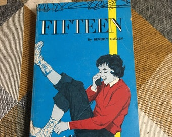 Vintage 1960 Fifteen Beverly Cleary Paperback Book