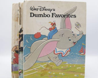 Walt Disney's Favourites Books: Dumbo, Peter Pan, Pinocchio (Vintage, Fairytale)