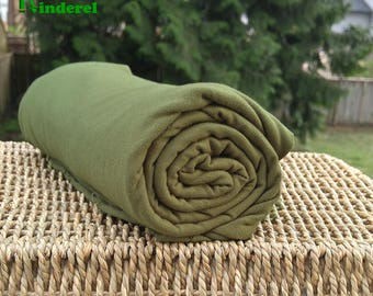 Bamboo Stretch Jersey Fabric Capulet Olive