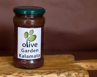 Olive paste,  Kalamata olives paste, Handmade olive pate, Olive spread, Gourmet gift, Mediterranean cuisine, foodie gift, Tapenade.vegan.
