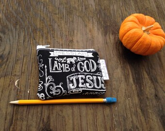 Names of Jesus Coin Purse
