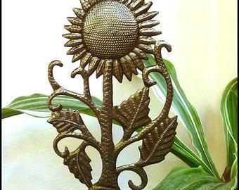 Garden Art, Outdoor Metal Art. Metal Plant Stake, Sunflower, Outdoor Garden Decor, Metal Plant Marker, Plant Stick, Garden Markers, PS-1769