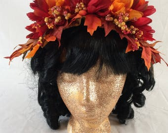 Harvest Goddess Fascinator Crown