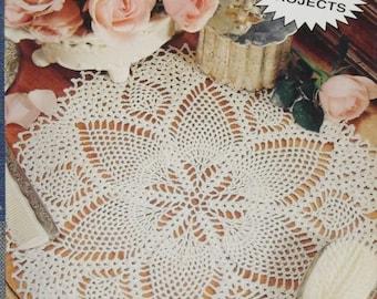 Pineapple Doilies 6 Crochet Patterns  Leisure Arts Little Books #75013