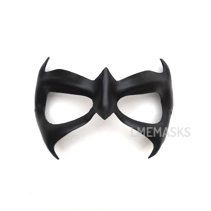 Nightwing leather mask First Night adults children Half Mask