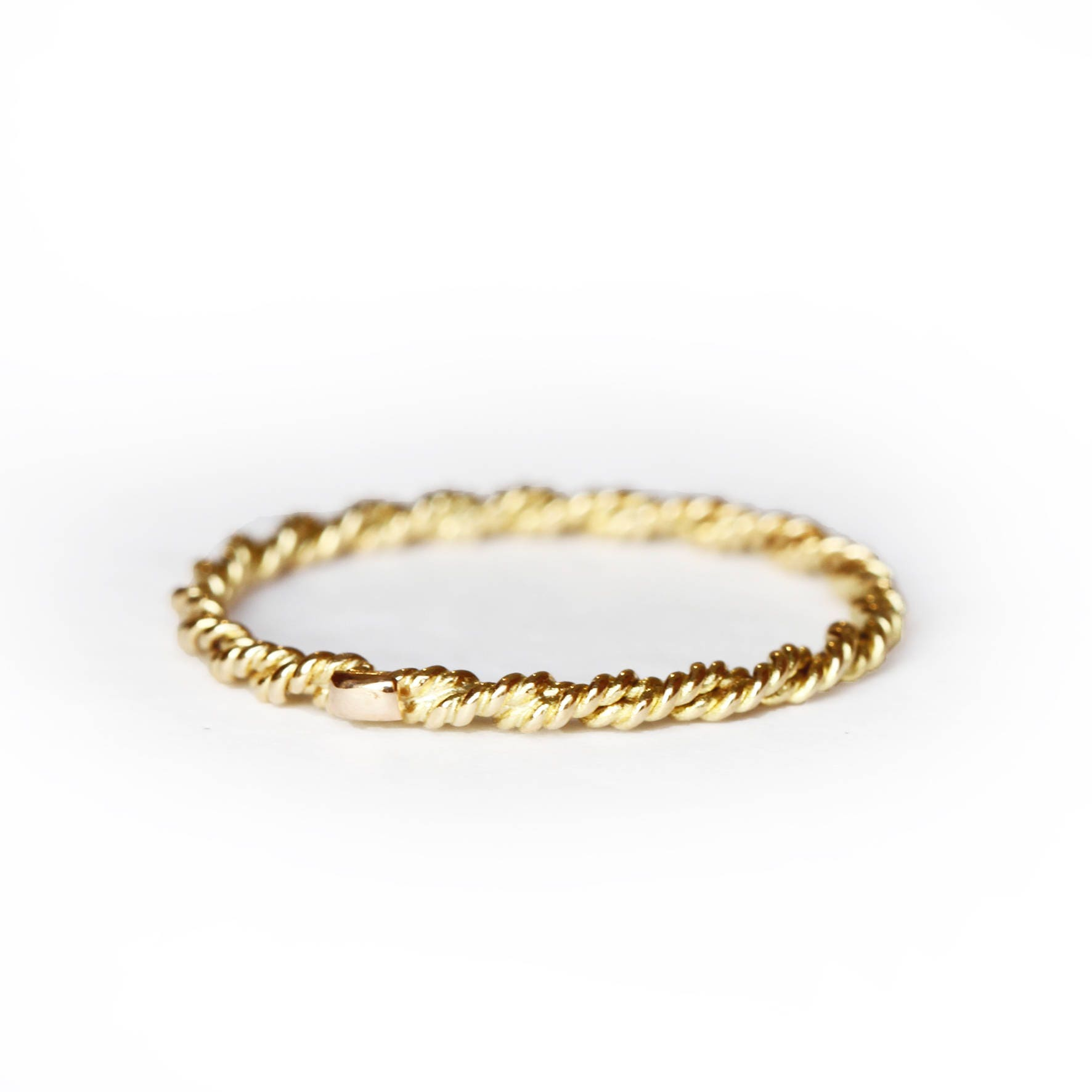 this pin solid beaded gold thin white or stacked it stacking elegant flat rings yellow ring dainty