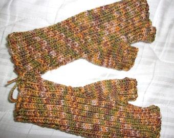 Fingerless gloves, handwarmers