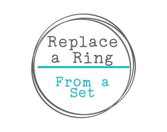 Replace A Ring From A Set