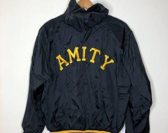 Black/ Yellow HS Varsity Jacket