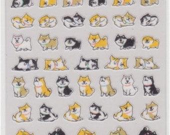 Dog Stickers - Puppy Stickers - Masking Tape Sticker - Mind Wave - Reference L6764-66