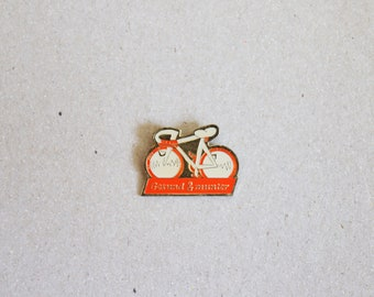 German Badge Bike Pin Badge Bicycle Brooch Gift for Bicyclist