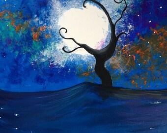 Stormy Night : Tree