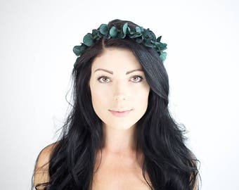Eucalyptus Flower Crown | Flower Crown | Bridal Headpiece | Floral Crown | Flower Headpiece | Floral Hair Wreath