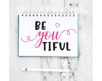 Be You Tiful SVG, beyoutiful svg, beautiful svg, cosmetic bag svg, cosmetic bag designs, makeup bag svg, make-up bag, girls svg, makeup svg