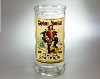 Guy Drinking Bottle Of Captain Morgan