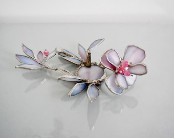 Unique 3D Candle Holder With A Flower. Votive. One Of A Kind.