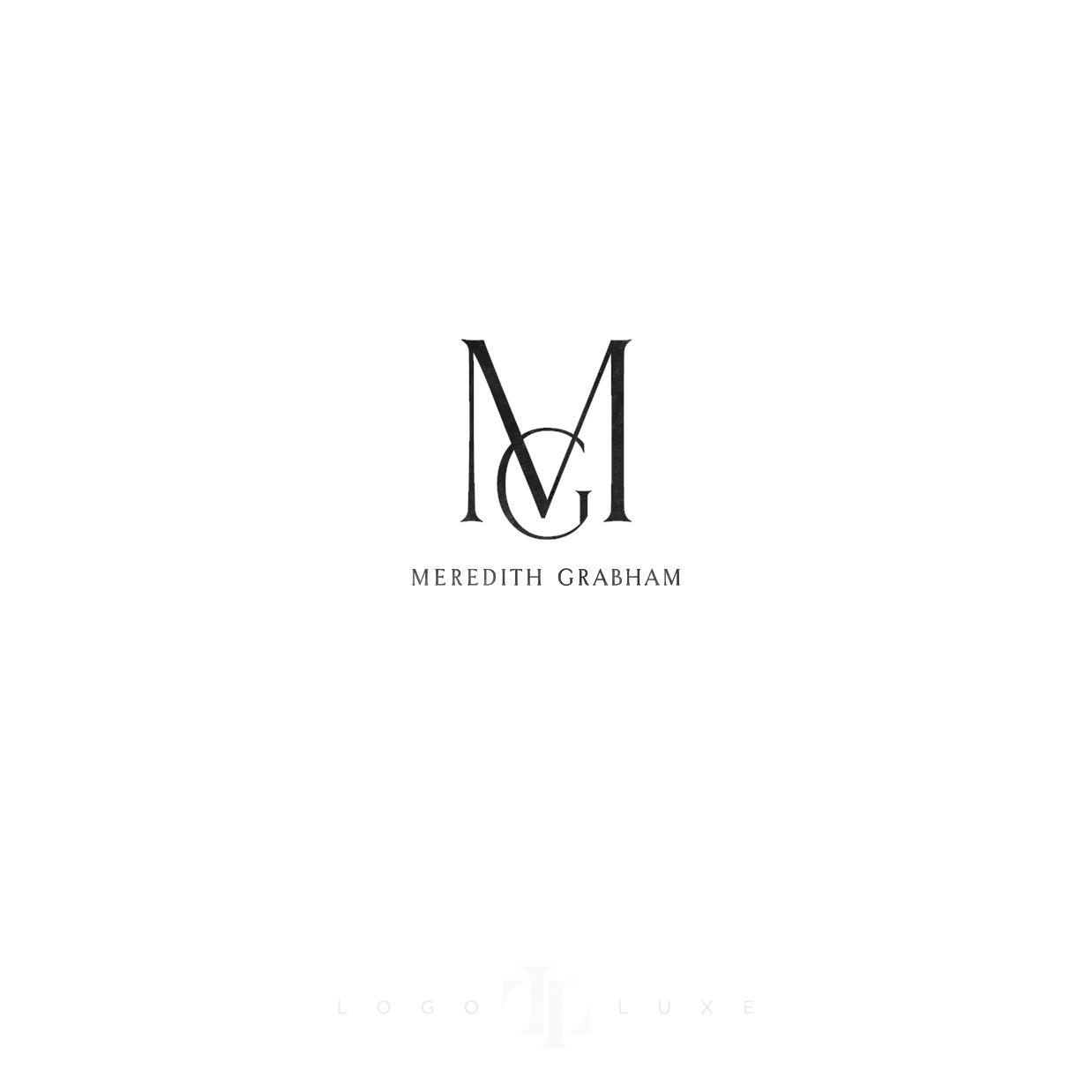 Custom logo design logo luxe custom business logo logo for Best names for interior designing firm