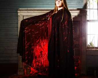 The Red Witch Cape