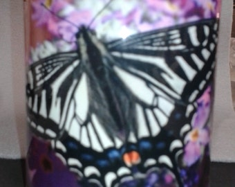 Flowers feed the soul- 11 oz. ceramic mug