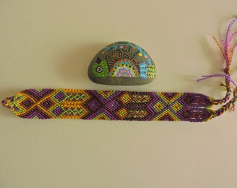 Mexican handmade threaded bracelet